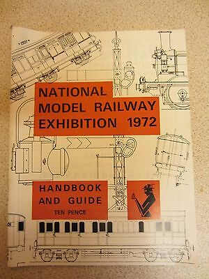 National Model Railway Exhibition Handbook and Guide 1972