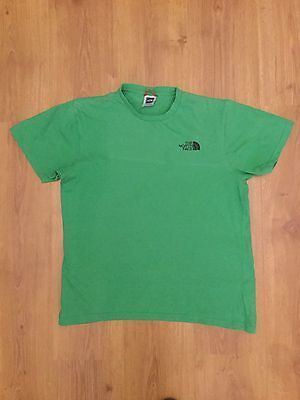 Men's The North Face Green T Shirt Size Small