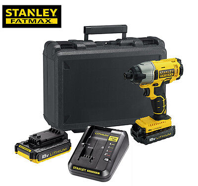 FATMAX 18V Impact Driver Inc 2x Li-ion Batteries & Charger NEW & VAT RECEIPT!