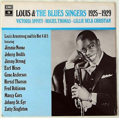 LOUIS ARMSTRONG  - EARLY LOUIS - RARE PARLOPHONE AND OTHER RECORDS - SIX LPs
