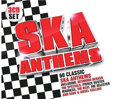 SKA Anthems BRAND NEW SEALED 3CD