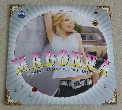 "MADONNA What It Feels Like For A Girl US DOUBLE 12"" VINYL SINGLE MINT!!"