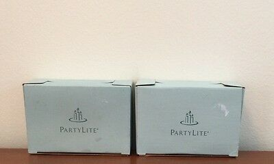 Partylite Votive 6 Pack Candles Iced Snowberries & Cinnamon & Bayberry 2337 2547