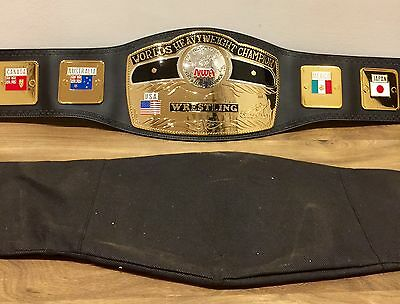 2000 NWA WORLD HEAVYWEIGHT WRESTLING CHAMPION BELT WWE ADULT REPLICA tna WWF wcw