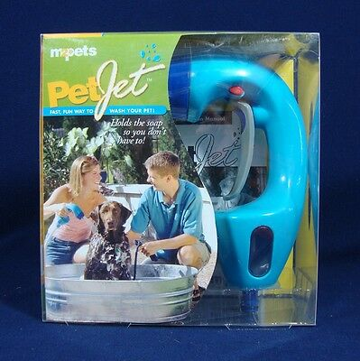 Pet Jet Dog Washer For One-Handed Easy Grooming Spray Nozzle M2Pets New