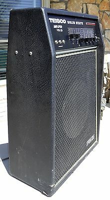 Teisco TS-20 Rare Solid State Guitar Amp,Vintage LOUD!