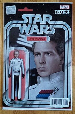 Star Wars Rogue One #1 JTC TATE's Director Krennic ACTION FIGURE VARIANT
