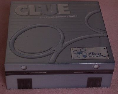Disney Vacation Club Clue Game 2015 DVC Member Exclusive