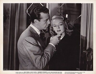 EVELYN KEYES DICK POWELL Original Vintage 1946 JOHNNY O'CLOCK Film Noir Photo
