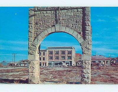 Unused Pre-1980 STONE ARCH Goldfield Nevada NV hn2692