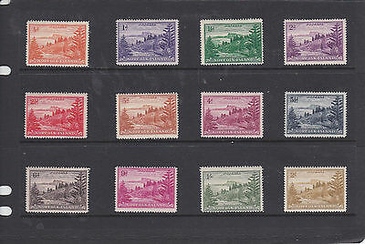 1947 Norfolk Is  Ball Bay Set Of 12 Lightly Hinged