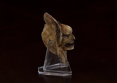 Pre Columbian Style Carved Figurine-Antique  Statue-Mayan OLmec