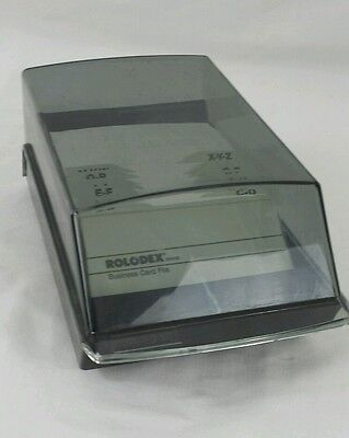 """Rolodex VIP 24C Organizing System Covered Card File Address Business 2 1/4"""" x 4"""""""