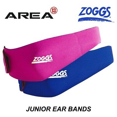 Zoggs Junior Ear Bands, Swimming Ear Band, Swimming Head Band