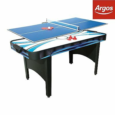 Mightymast Typhoon 2-in-1 Air Hockey/Table Tennis Table. From Argos on ebay