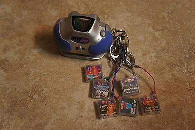Tiger Electronics HIT CLIPS  Boom Box w/ 6 songs | NSYNC, Pink, Britney Spears