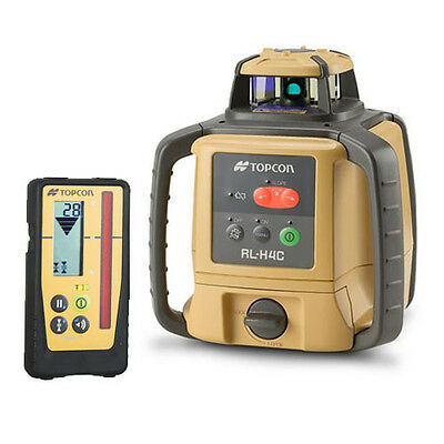 Topcon RL-H4C Rechargeable Laser Level With LS-100D Receiver