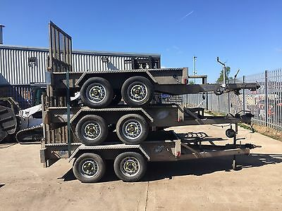 Indespension AD2000 Plant Trailer 8x4 - Stacks Of Trailers Choice Of 7!!