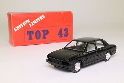 Top 43 #0014; 1982 Peugeot 505; Hertz Production; Rally Car Kit, Excellent Boxed