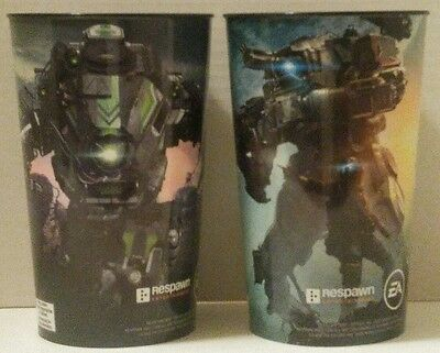 TITANFALL 2 Mountain Dew CUPS 7-Eleven EA Slurpee RESPAWN Game FUEL YOUR TITAN