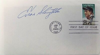 Enos Slaughter St. Louis Cardinals Signed Gateway First Day Cover