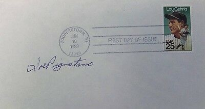 Joe Pignatano Los Angeles Dodgers Signed First Day Cover