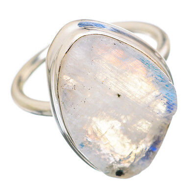 Rainbow Moonstone 925 Sterling Silver Ring Size 8 Ana Co Jewelry R842101