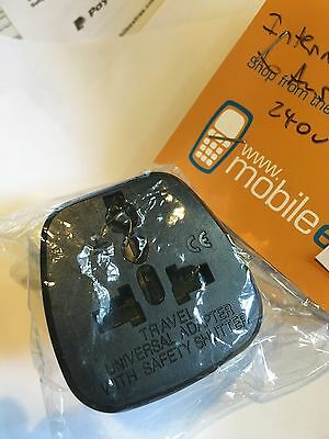 USA, EUR, UK Universal Plug to AUSTRALIA AC Power Plug Travel Adapter Converter.