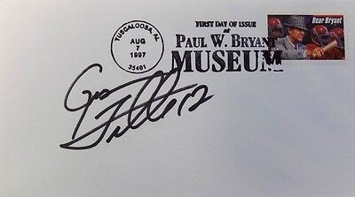 Gus Frerotte Washington Redskins Signed First Day Cover