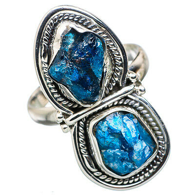Apatite 925 Sterling Silver Ring Size 9 Ana Co Jewelry R829486