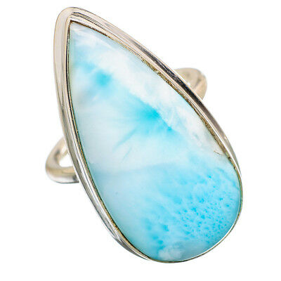 Large Larimar 925 Sterling Silver Ring Size 6 Ana Co Jewelry R842163