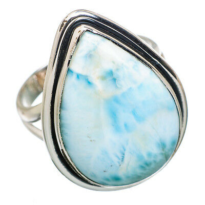 Larimar 925 Sterling Silver Ring Size 9 Ana Co Jewelry R826957