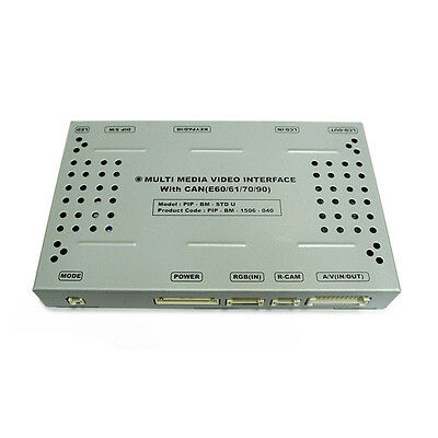 multimedia Video Interface for BMW CCC system with PIP function iDrive Support