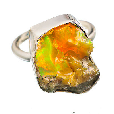 Ethiopian Opal 925 Sterling Silver Ring Size 4 Ana Co Jewelry R834763