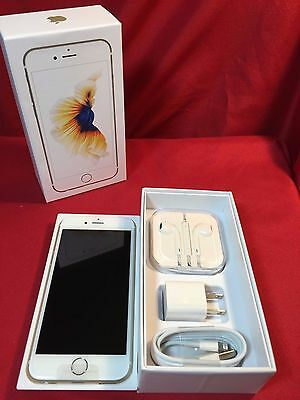 NEW Apple iPhone 6S Unlocked 16GB 64GB 128GB Grey Rose Gold Silver 4G GSM GOOD++