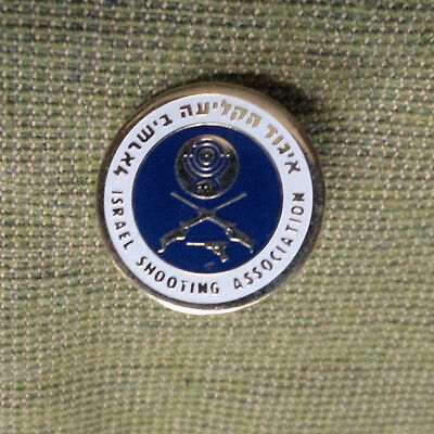#d287. Israel  Shooting  Association  Lapel Badge