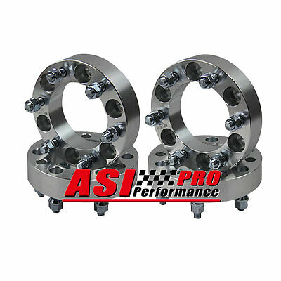 4PCS 25mm 6 Lugs Wheel Spacers FOR LANDCRUISER PATROL MONTERO PAJERO HILUX PRADO