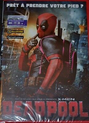 Deadpool     Film Dvd Marvel   Neuf Sous Blister