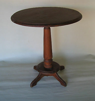 Vintage Antique Round Side Table