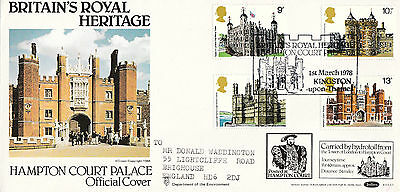Benham Bocs2 Official First Day Cover-Hampton Court Palace-Kingston Upon Thames