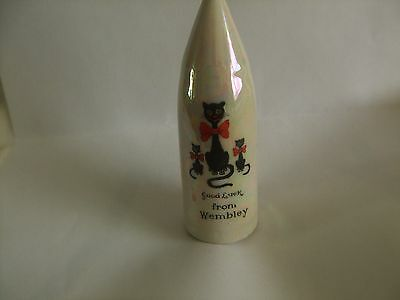 arcadian china vintage artillery shell with a beautiful shell finish