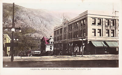 RP; Medical Arts Building, Main Street, Nelson, B.C. , Canada , 1910s-20s