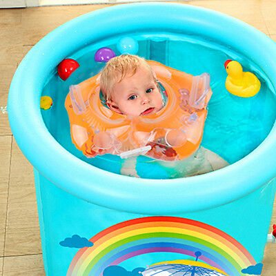 Baby Swimming Accessories Neck Ring Tube Safety Infant Float Rings For Bathing