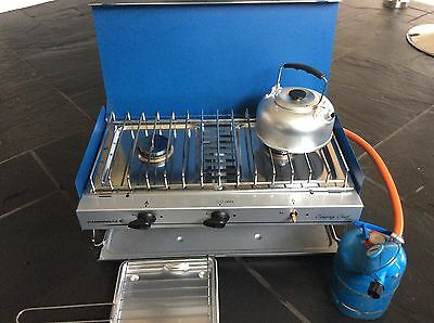 Campingaz Camping Chef stove & gas bottle
