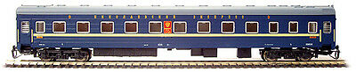 4 axis high-speed train sleeping car RZD Nikolaevskii Express TT 1/120 12mm