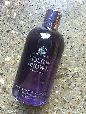 Molton Brown Exquisite Vanilla & Violet Flower Bath & Shower 300ml Limited Ed