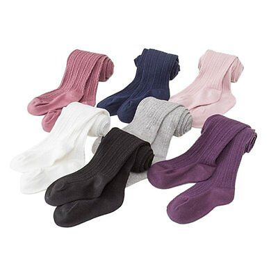AU Toddler Baby Girls Warm Pantyhose Kids Cotton Tights Socks Stockings 0-8Y