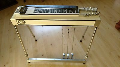 LinKon 10 String Pedal Steel Guitar - 5 Levers  and Three Pedals