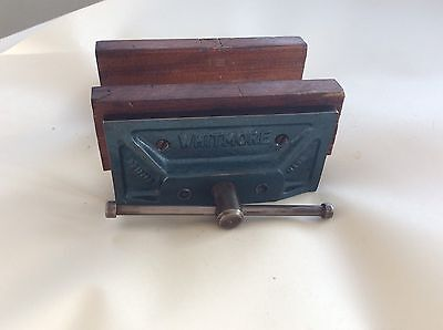 """Vintage Vice 6"""" Bench Carpenters Wood Work Old Tools Craft Hobby Whitmore"""