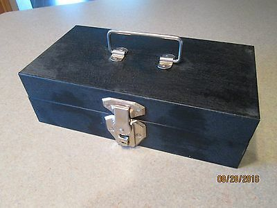 Vintage Summers Metal Cash Box With Removable Tray